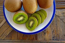 El kiwi rico en vitamina C