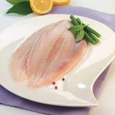 El lenguado pescado blanco bajo en calorías